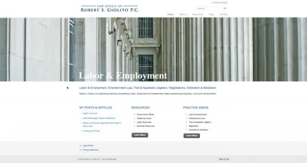Giolito Law Website