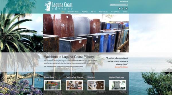 Laguna Coast Pottery Website
